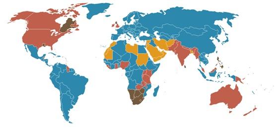 Mapa CL