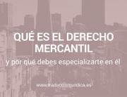 Que es Dcho Mercantil