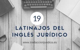 latinajos del inglés jurídico
