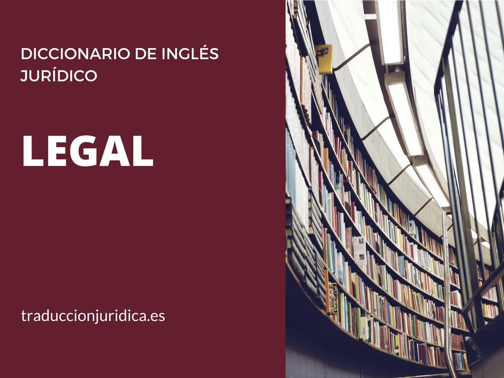 35 formas de emplear bien «legal»